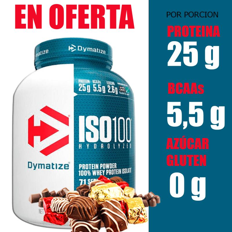iso 100 chile en oferta cyberday whey protein dymatize