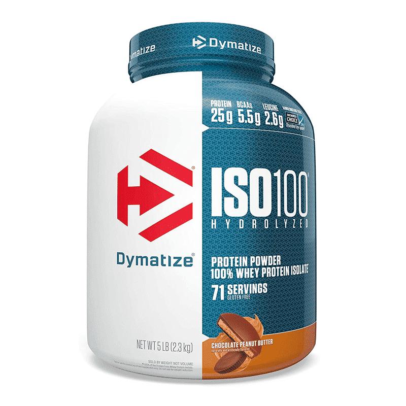 iso 100 hydrolyzed 5lb chocolate peanut butter