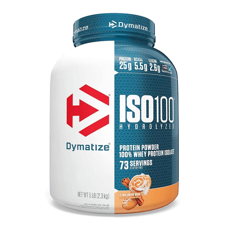 iso 100 hydrolyzed 5lb cinnamon bun