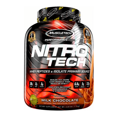 nitro tech performance series 4 lb milk chocolate