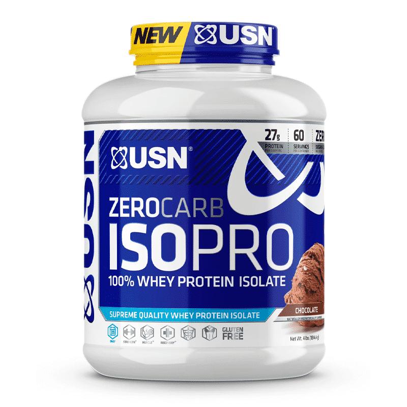 zero carb isopro 4 lb chocolate