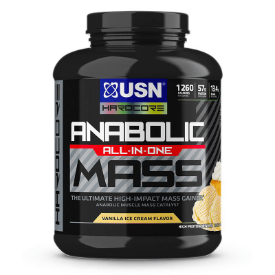 anabolic all in one mass vanilla ice cream flavor 6 libras 8 porciones
