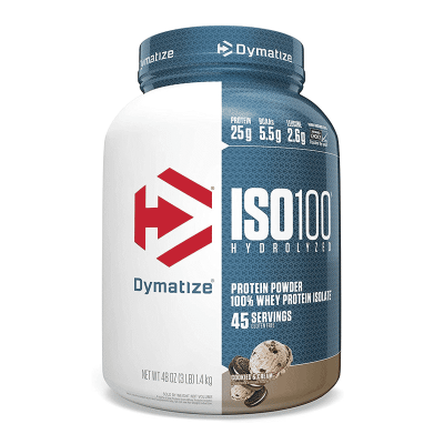 iso 100 hydrolyzed 3lb cookies and cream