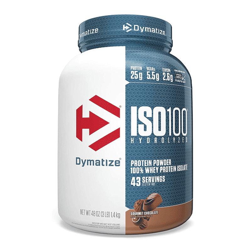 iso 100 hydrolyzed 3lb gourmet chocolate