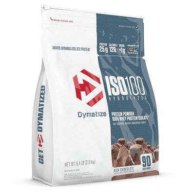 iso 100 hydrolyzed rich chocolate 6,4 libras dymatize