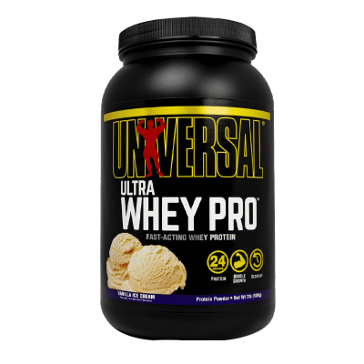 ultra whey pro vanilla ice cream 2 libras universal nutrition