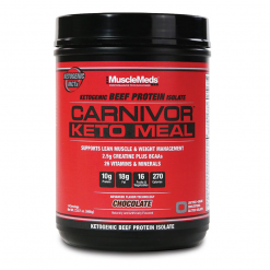 carnivor keto meal chocolate musclemeds