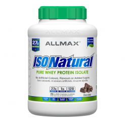 isonatural chocolate allmax nutrition