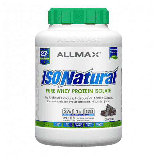isonatural chocolate allmax nutrition
