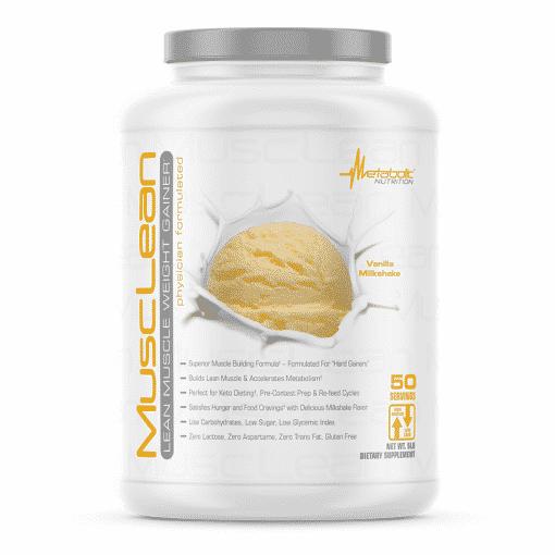 musclean vanilla milkshake metabolic nutrition