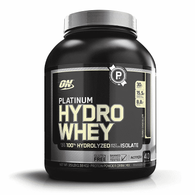 platinum hydro whey turbo chocolate optimum nutrition