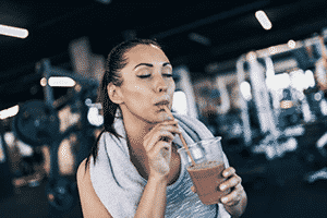proteína whey para mujer