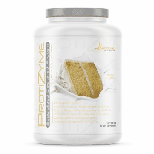 protizyme vanilla cake metabolic nutrition