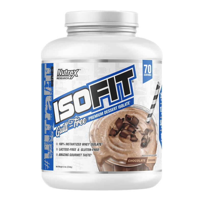 isofit 5 libras 70 porciones chocolate shake nutrex research