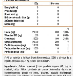 lipo 6 black hers nutrex tabla nutricional