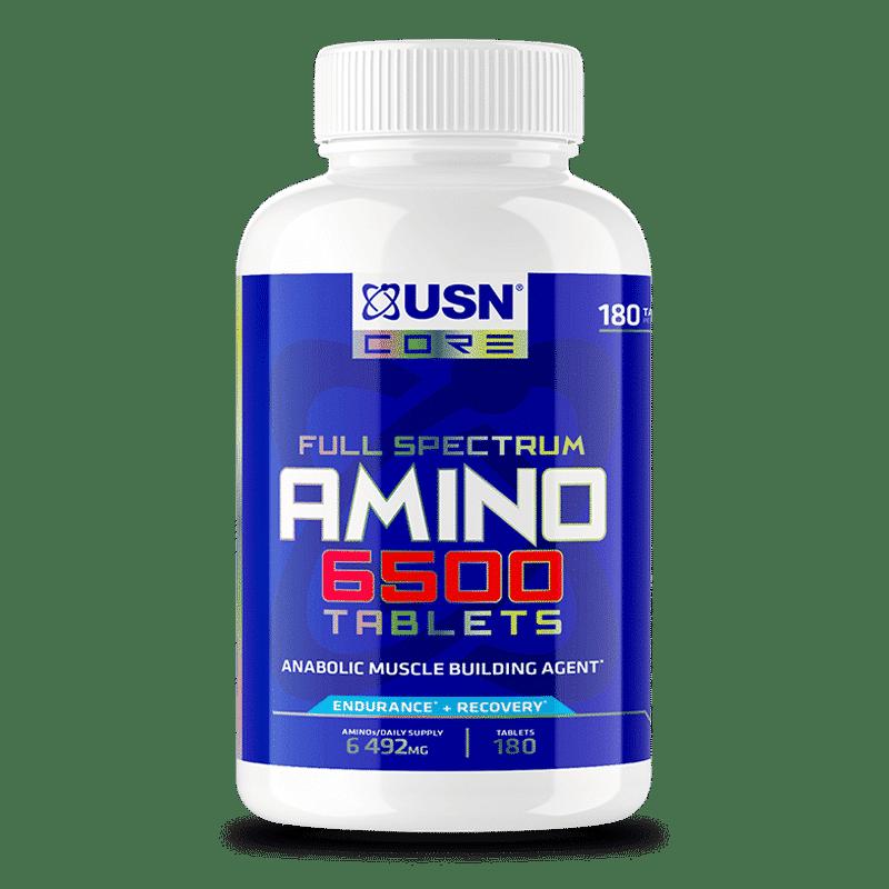 amino 6500 tablets usn 180 tablets