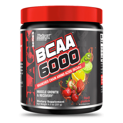 bcaa 6000 fruit punch nutrex research