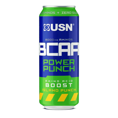 bcaa power punch island punch usn