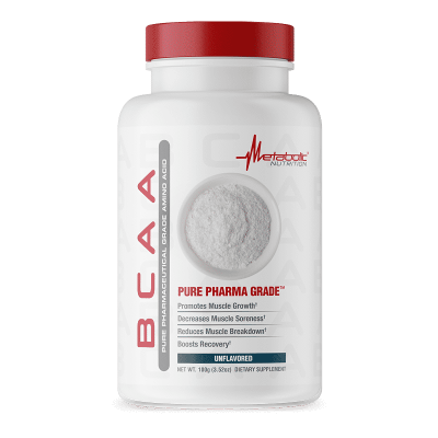 bcaa unflavored metabolic nutrition