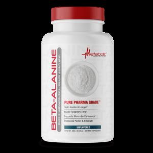 beta-alanina sin sabor 300 gramos metabolic nutrition