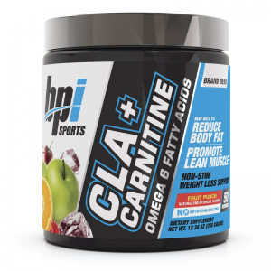 cla + carnitine omega 6 fatty acids fruit punch bpi sports
