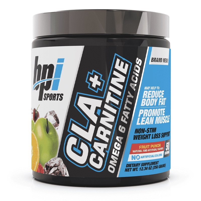 cla + carnitine omega 6 fatty acids fruit punch bpi sports