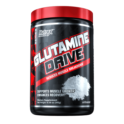 glutamine drive unflavored-300 gramos nutrex research