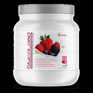 glycoload fruit punch 600 gramos 30 porciones metabolic nutrition
