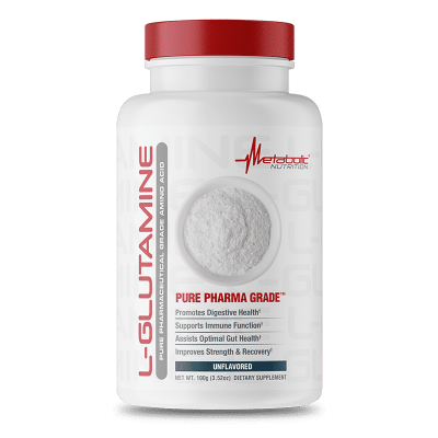 l-glutamine unflavored metabolic nutrition