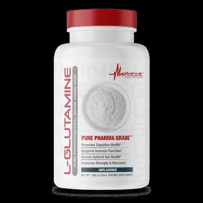 l-glutamine unflavored metabolic nutrition
