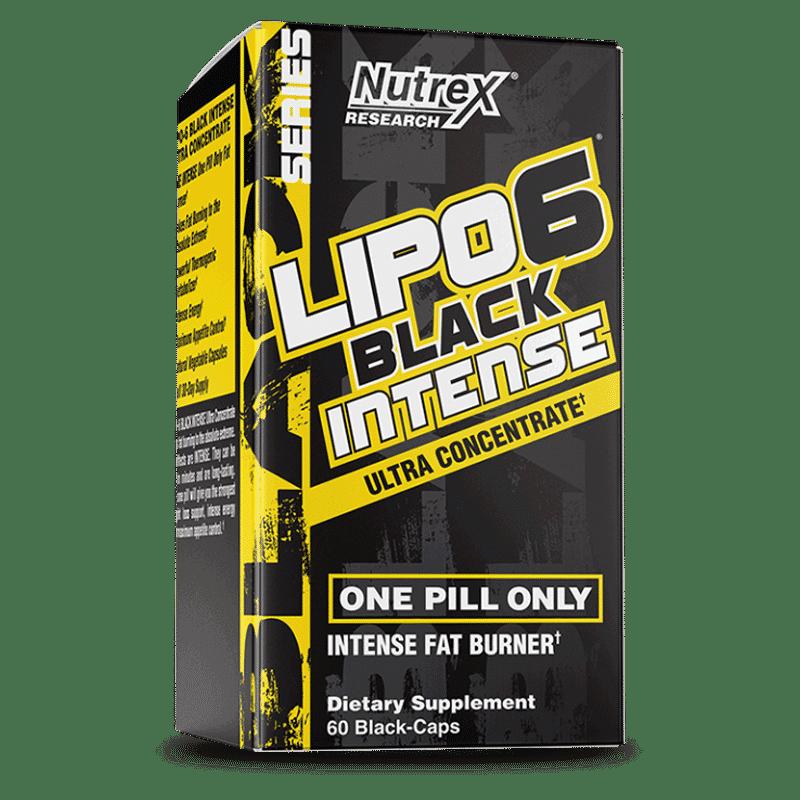 lipo 6 black intense ultra concentrate 60 cápsulas nutrex research