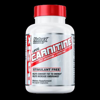 lipo 6 carnitine 60 cápsulas liquidas nutrex research