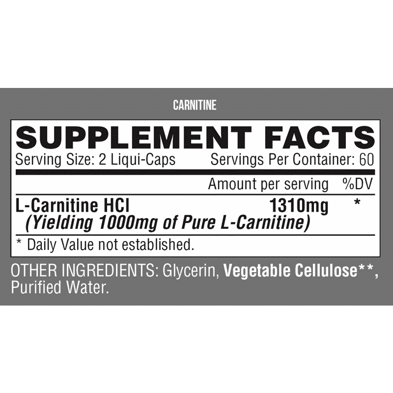 lipo 6 carnitine 60 capsulas liquidas nutrex research informacion nutricional