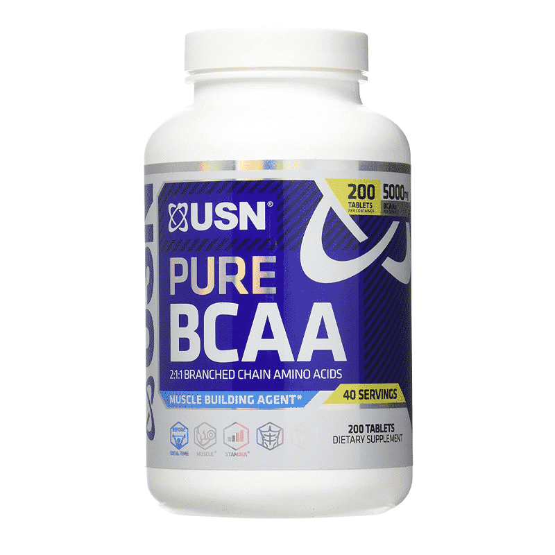 pure bcaa 200 tablets usn