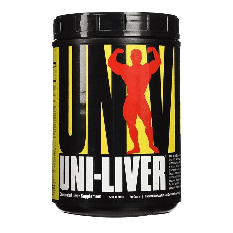 uni-liver 500 tabletas universal nutrition