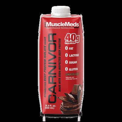 carnivor rtd chocolate 500ml musclemeds