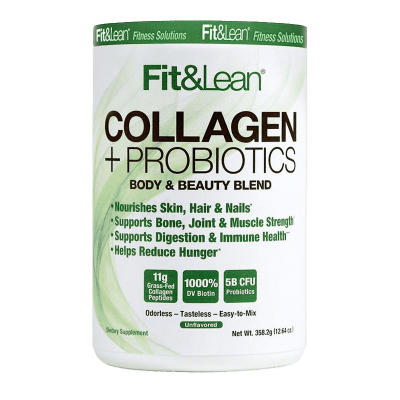 collagen probiotics body beauty and beauty blend 358,2 gramos Fit&Lean