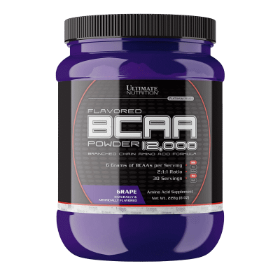 flavored bcaa powder 12000 grape 228 gramos ultimate nutrition