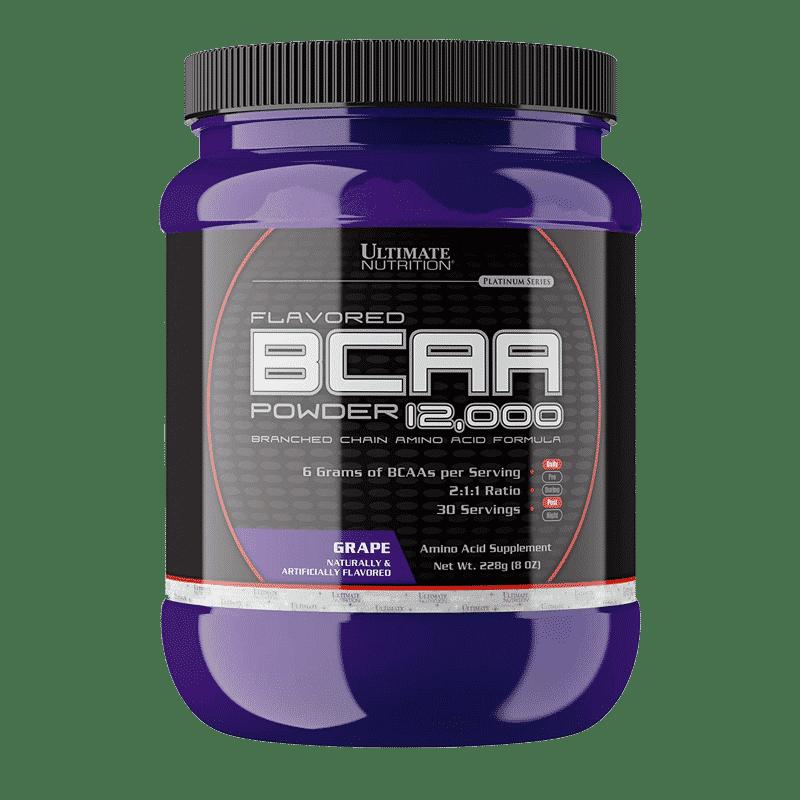 flavored bcaa powder 12000 grape 228 gramos ultimate nutrition