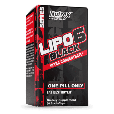 lipo 6 black ultra concentrate 60 cápsulas nutrex research