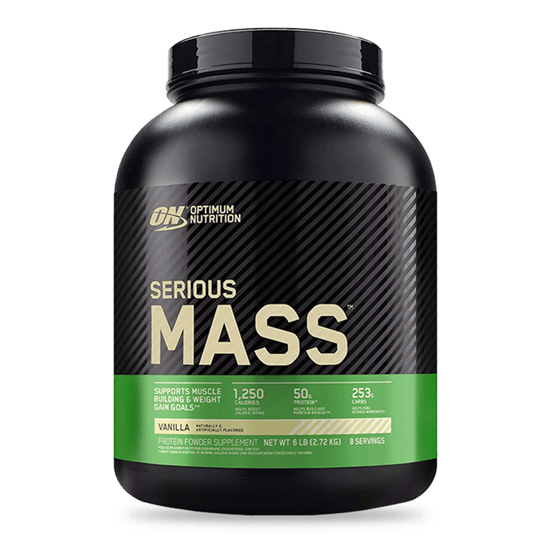 serious mass vanilla 6 libras optimum nutrition