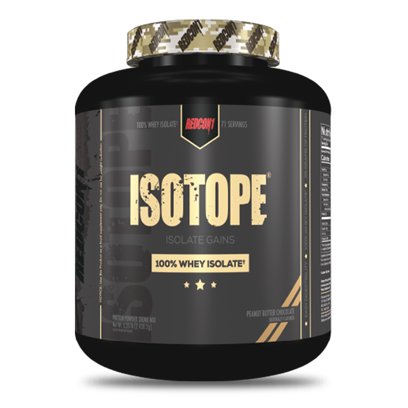 isotope 100 whey isolate peanut butter chocolate 5 libras 71 porciones redcon1