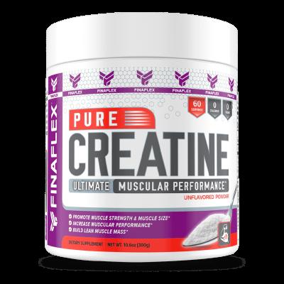 pure creatine ultimate muscular performance sin sabor 300 gramos finaflex
